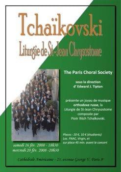 2008-02_Tchaikovski_Liturgie_St_Jean_Chrysostome_POSTER
