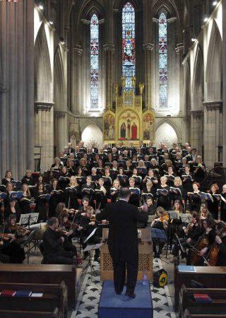 Bach whole choir shot