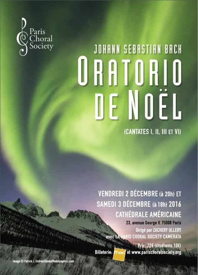oratorio de noel paris 2018 Jean Sébastian Bach: Oratorio de Noël   Paris Choral Society oratorio de noel paris 2018