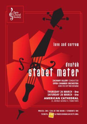PCS - 2019-2020 Concert 2 - Dvorak Stabat Mater - Poster (v2) - ENG @ 12 Jan 20
