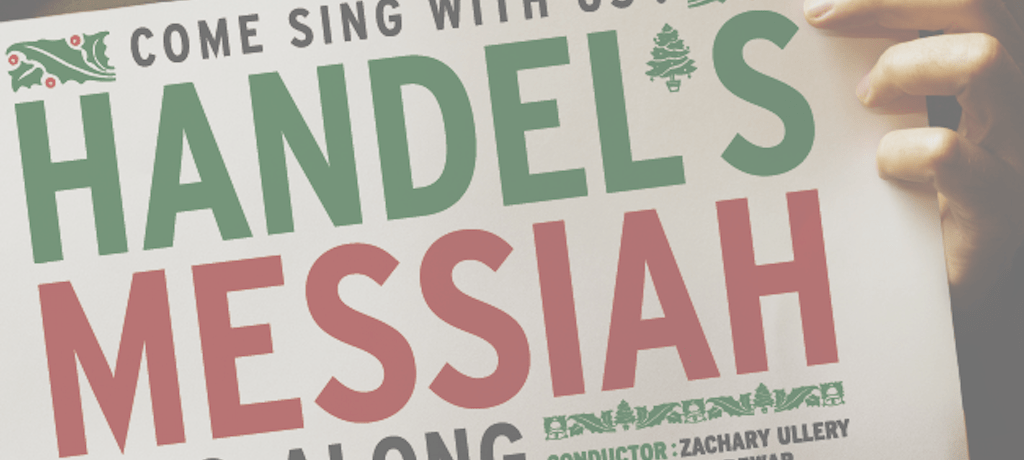 Handel's Messiah: Sing-Along!